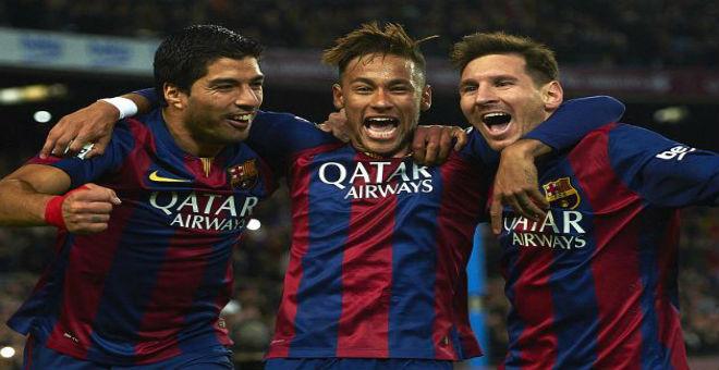 ثلاثي برشلونة يتفوق على ثلاثي الريال
