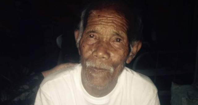 زلزال النيبال: انشال عجوز عمره 101 عام