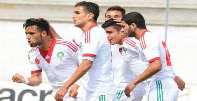الأولمبي المغربي يسحق منتخب الصين بثلاثية