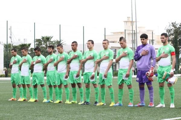 المنتخب الأولمبي الجزائري يلاقي نظيره المصري