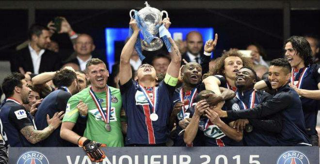 باريس سان جرمان يفوز بكأس فرنسا للمرة التاسعة