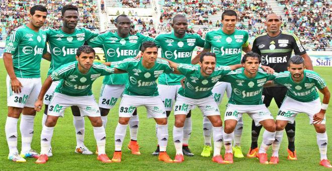 الرجاء البيضاوي يفوز على النادي الافريقي بهدفين