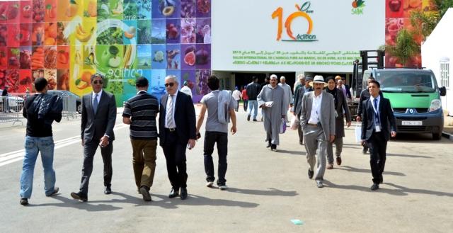 المعرض الدولي للفلاحة في مكناس يفتح أبوابه في وجه الجمهور