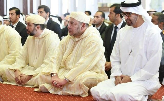 العاهل المغربي يجري الإثنين المقبل بالإمارات لقاء رسميا مع الشيخ محمد بن زايد آل نهيان