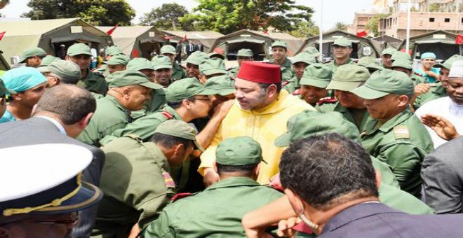 الملك يزور المستشفى الميداني المغربي في غينيا بيساو