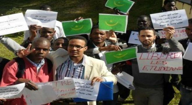 الشرطة التونسية تمنع الطلاب الموريتانيين من الإحتجاج