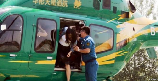 « التاكسي الطائر » يحلق في أجواء بكين