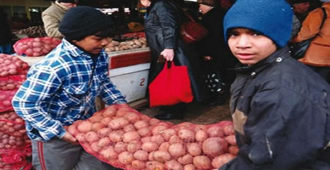 90 في المائة من الأطفال يشتغلون في العالم القروي في المغرب
