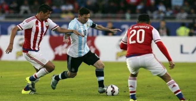 البارغواي ترغم منتخب الأرجنتين على التعادل