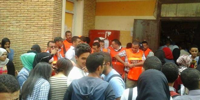 الأمن يقتحم كلية سطات