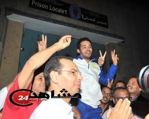 العمراني خارج أسوار سجن الزاكي