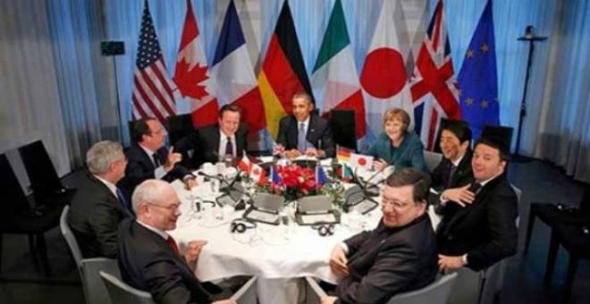 ختام القمة.. القادة السبع يهددون روسيا بمزيد من العقوبات