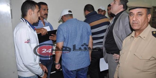 القبض على متهمين انتحال صفة مقدم في درب عمر