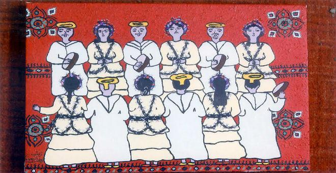 الرسامة المغربية زينب أوميمون تستعد لمعرضها الأول