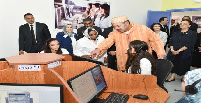 الملك محمد السادس يطلق مشروعين للتكوين لفائدة شباب الدار البيضاء
