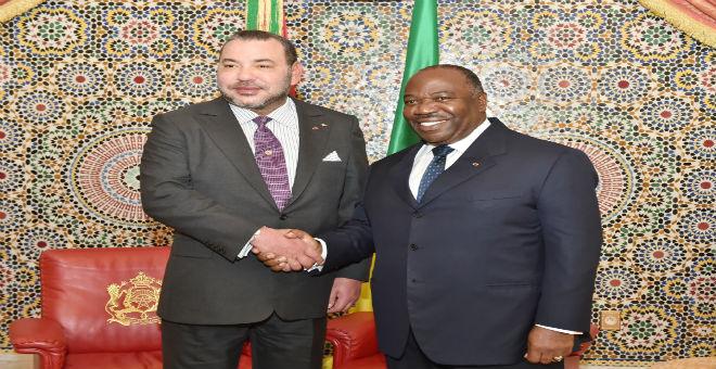 الملك محمد السادس يغادر ليبروفيل عائدا إلى المغرب