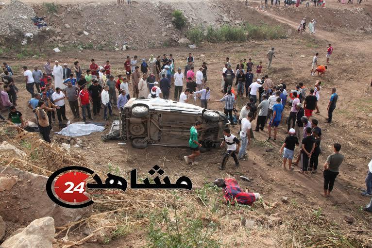 وفاة ثلاثة أشخاص بعد حادثة سير في المحمدية