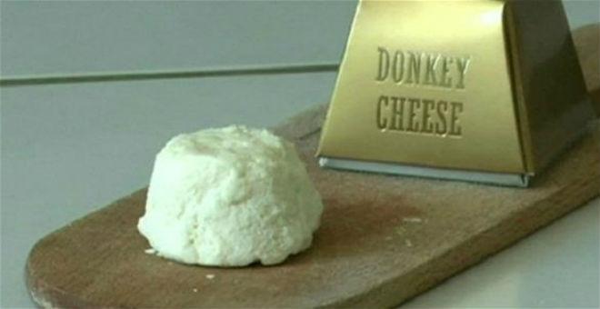أغلى جبنة في العالم مصنوعة من حليب الحمير