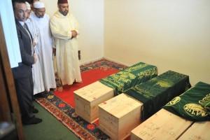 جثامين ضحايا شاطئ واد الشراذ تصل المقبرة