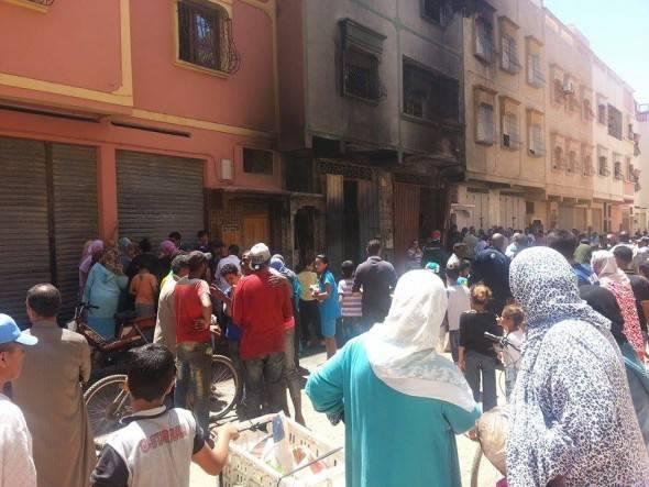 وفاة طفلين وامرأة بعد حريق في مدينة الدشيرة