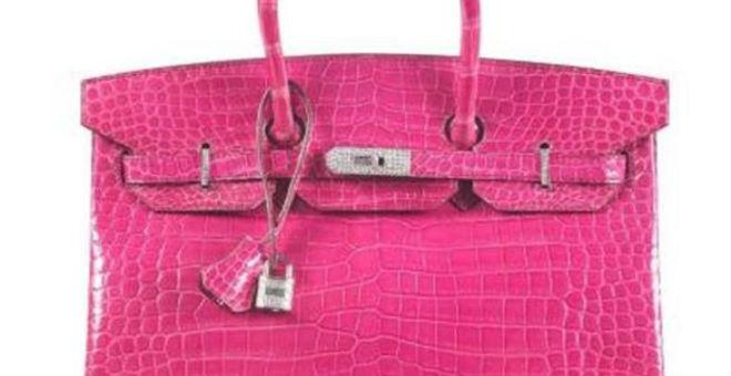 أغلى حقيبة نسائية في العالم بـ 255 ألف دولار