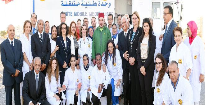 الملك محمد السادس يعطي انطلاقة حملة طبية لمكافحة الأمراض المزمنة