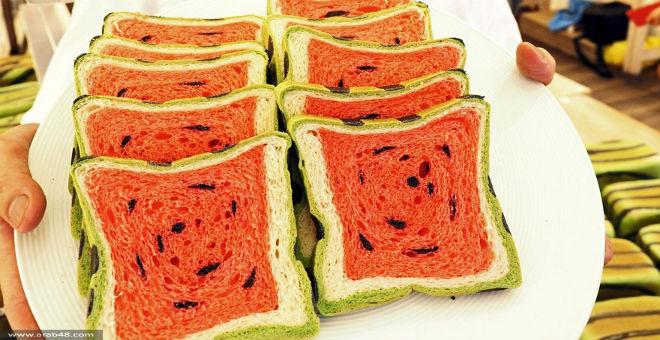 بالصور..خباز ياباني يخترع خبز