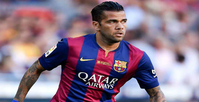 ألفيس يحسم مصيره مع فريق برشلونة