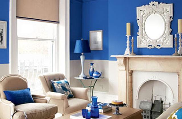 بالصور:أفكار لاعتماد اللون الأزرق في ديكور المنزل