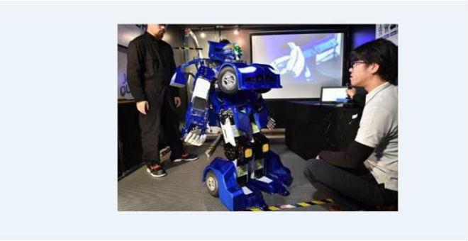 روبوت ياباني يتحول إلى سيارة خلال 10 ثوان