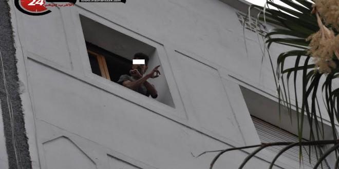 شاب حاول الانتحار في شارع محمد السادس بالبيضاء