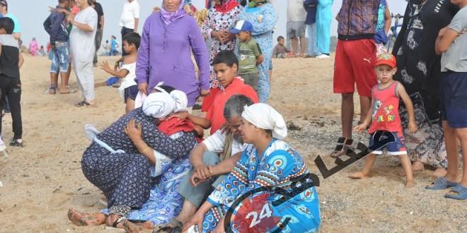 عائلات الضحايا وعائلات المفقودين في شاطئ واد الشراط