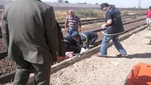 وفاة شخص بعد رمي نفسه أمام أحد القطارات