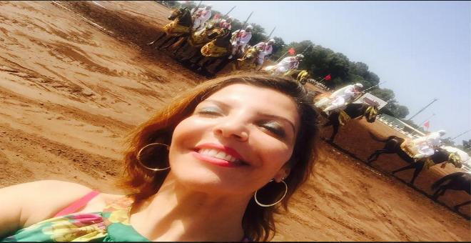 الفنانة المغربية لطيفة أحرار في عروض
