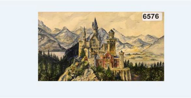 400 ألف يورو ثمن لوحات رسمها هتلر