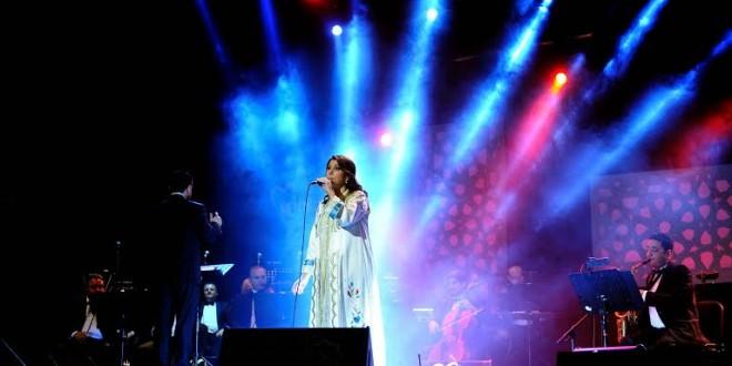 ماجدة الرومي فوق خشبة مسرح محمد الخامس مشاهد 24