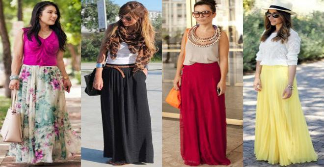الفستان الماكسي لإطلالة محتشمة في رمضان