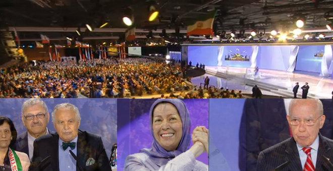 المعارضة الإيرانية تعلن حربها على النظام الملالي من باريس