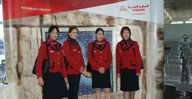إلغاء إضراب مضيفات و مضيفي الخطوط التونسية