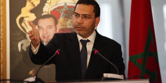 مصطفى الخلفي وزير الاتصال