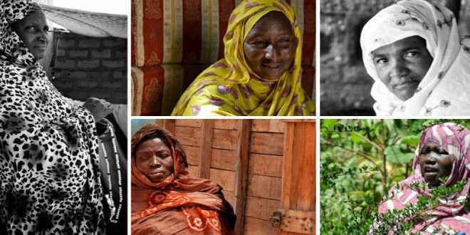 نساء موريتانيات