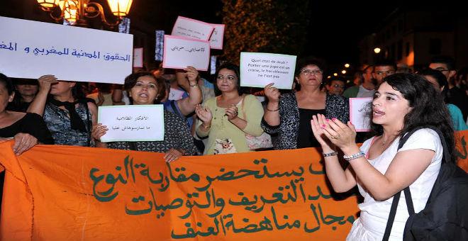 جمعية نسائية مغربية  تدعو إلى إلغاء  المتابعة في حق فتاتي انزكان