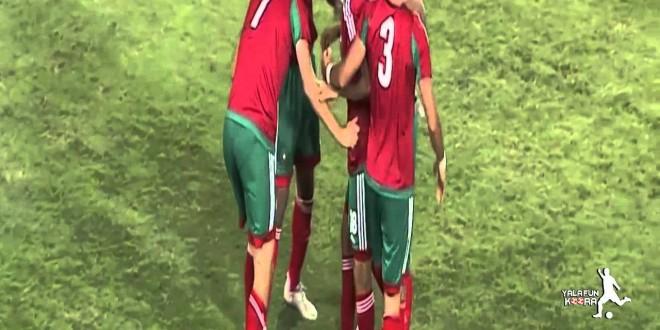 بالفيديو مباراة المغرب – ليبيا : 1-0