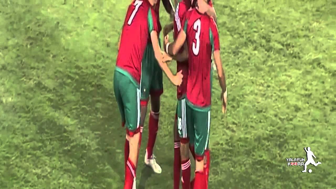 بالفيديو مباراة المغرب - ليبيا : 1-0