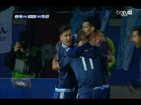 الارجنتين و أوروغواي 1-0