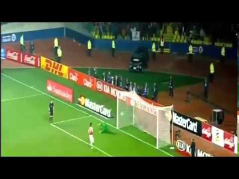 البرازيل والباراغواي 1-1 (3-4)