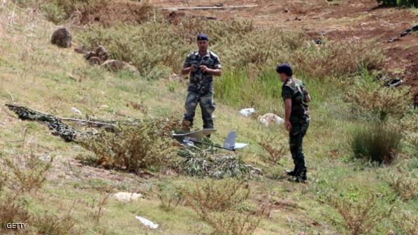 طائرة استطلاع إسرائيلية تسقط بلبنان