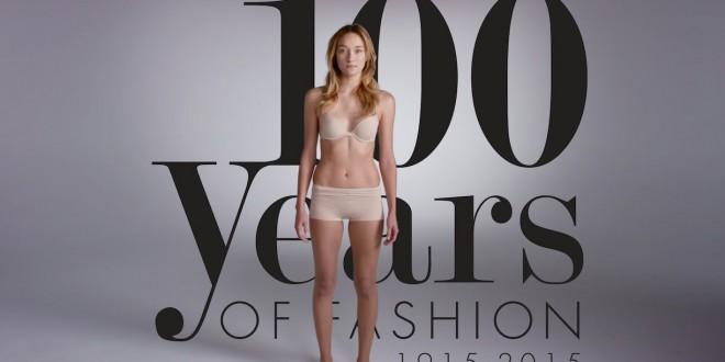 فيديو..100 عام من الموضة في دقيقتين