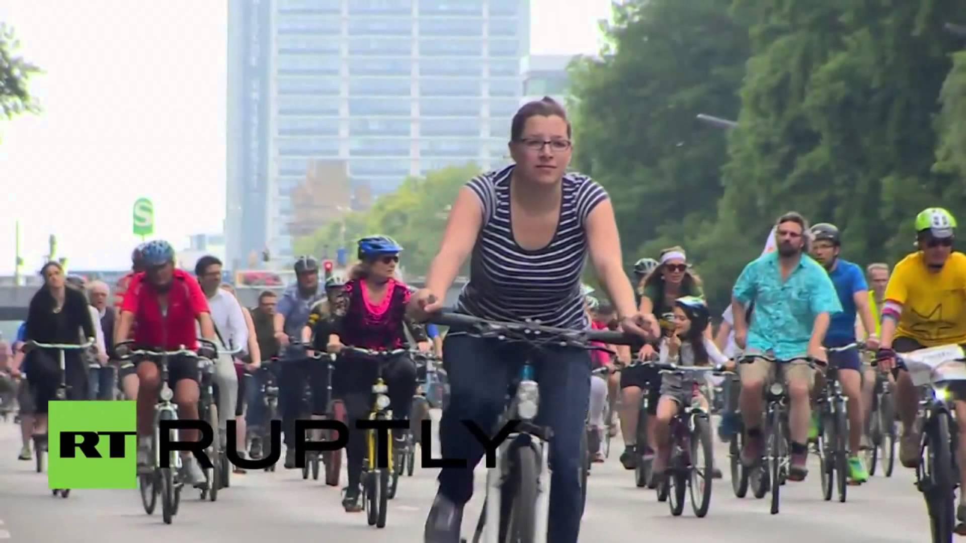 ألمانيا..احتجاج لـ 120 ألف راكب دراجات هوائية