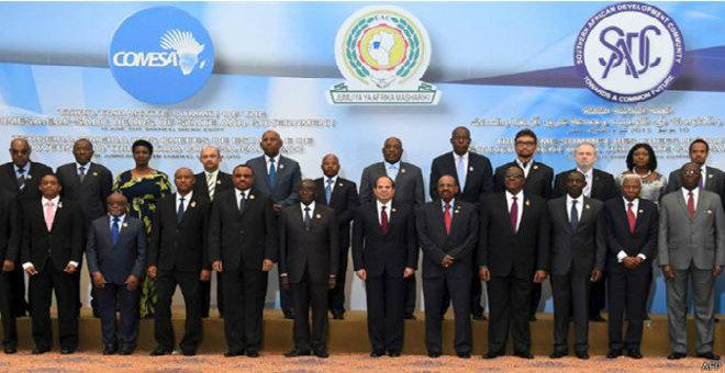 26 دولة إفريقية توقع اتفاقية تجارة حرة بشرم الشيخ